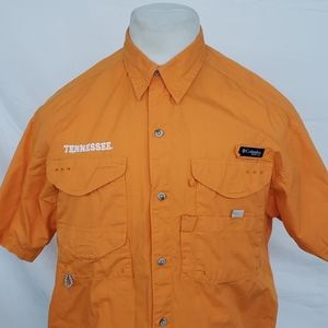 Columbia PFG UT VOLS Spell Out Big T on Back